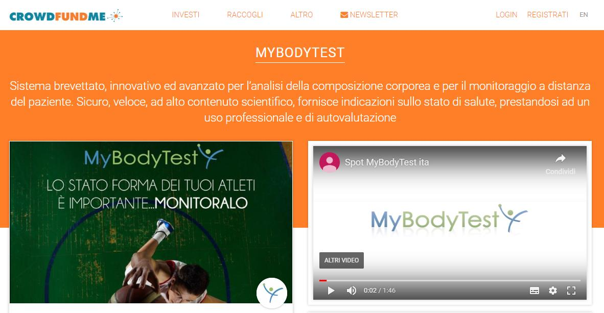 test Twitter Media - Parte oggi la campagna di Crowdfunding, sulla piattaforma @CrowdfundmeIT , del dispositivo @MyBodyTest -> https://t.co/JuDSScjvPH https://t.co/JMnkMk4WGn
