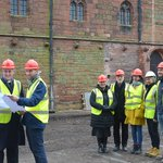 Work has started on the HLF Grade I listed Fratry Project at Carlisle Cathedral.  A fantastic project to be involved in @buttressarch @FeildenFowles @cubbylimited  @CarlisleCath @heritagelottery Structure workshop #heritage https://t.co/IkBgPmEZZP