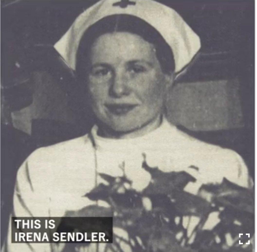 Irena #Sendler, the Polish woman who saved up to 2500 #Jewish children from #Holocaust. Via @StZaryn https://www.youtube.com/watch?v=vg4deegQxH4…