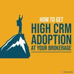 Choosing a #CRM platform that's easy & intuitive to use makes achieving widespread adoption much, much easier. We've got #tips for you on how to get the highest possible CRM adoption at your #realestate brokerage.  https://t.co/q8odVta7jd