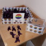 Image for the Tweet beginning: Selling #Ribbons for #LGBTHistoryMonth19 proceeds