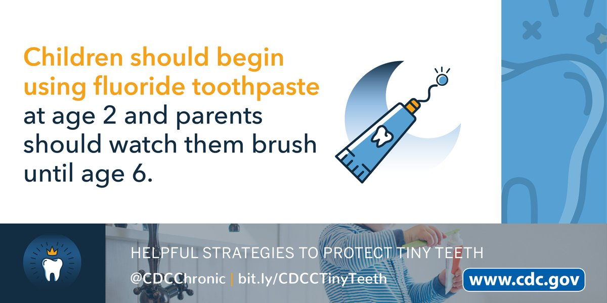 Did you know that cavities are one of the most common chronic diseases for kids age 6-19? Set your little ones up for a lifetime of healthy teeth with these strategies for infants and children. https://t.co/knLmPunpoD #CDHM  #ChildrensDentalHealthMonth