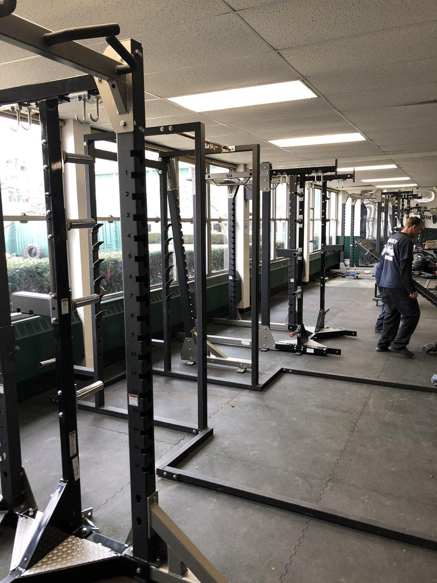 New TITAN weight room renovation underway! Hammer Strength