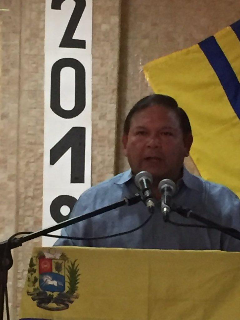 #BicentenarioAngostura2019 en Cd Bolívar encabezado por el Legítimo Gobernador del Edo. Bolívar @AndresVelasqz