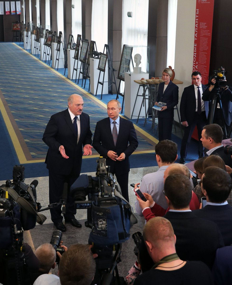 #Sochi: Vladimir Putin and Alexander Lukashenko answered media questions https://t.co/PvyYtcjvFY