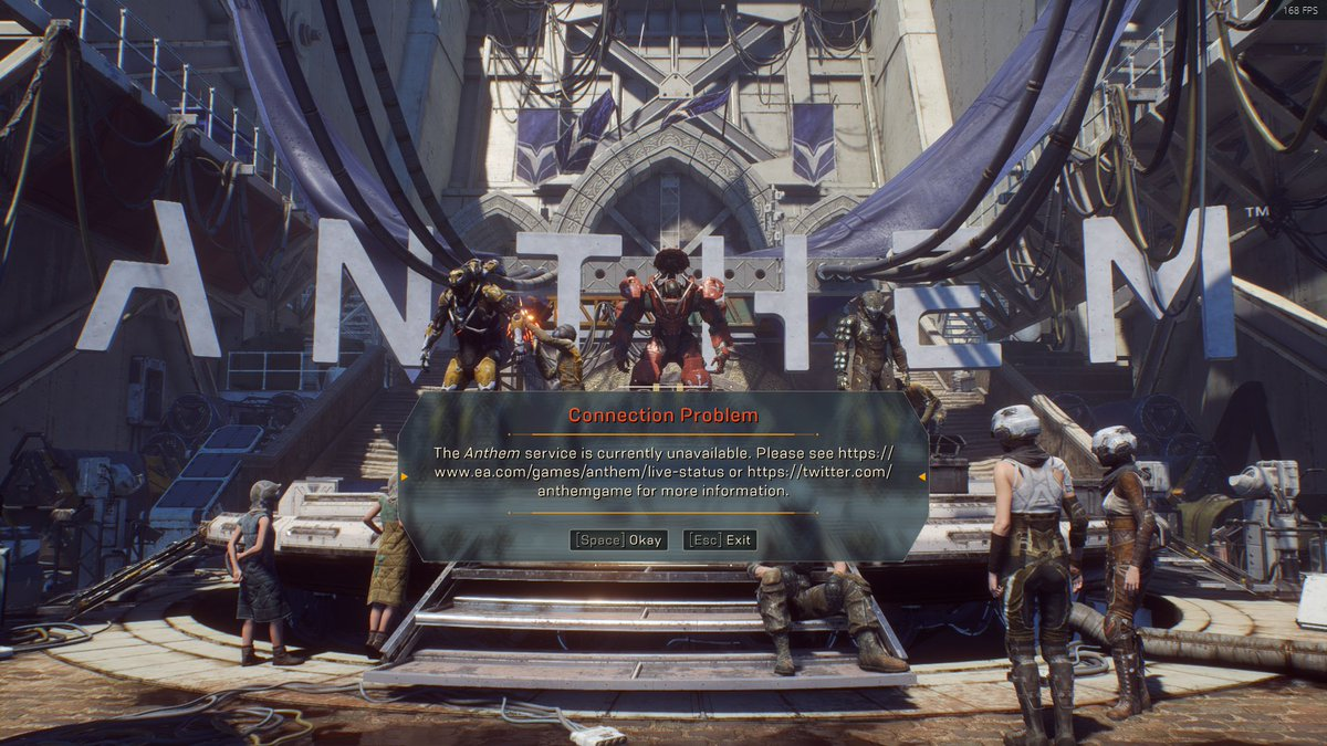 Again? @anthemgame #Beta <-?😐 B-E-L-A-S-T-E-N-D