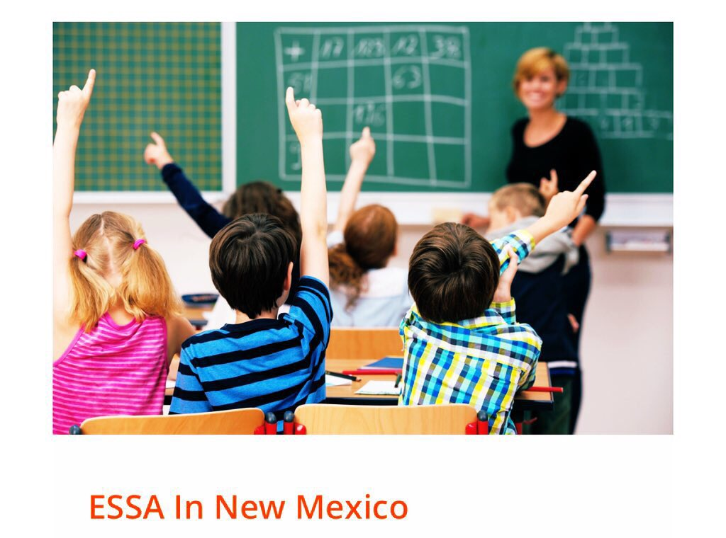 We want your feedback! The NMPED is proposing updates to Section 4- Accountability, Support, and Improvements for Schools. Read the proposal and give comment: https://webnew.ped.state.nm.us/information/essa-new-mexico/ …  Feedback for other sections will be out soon.
