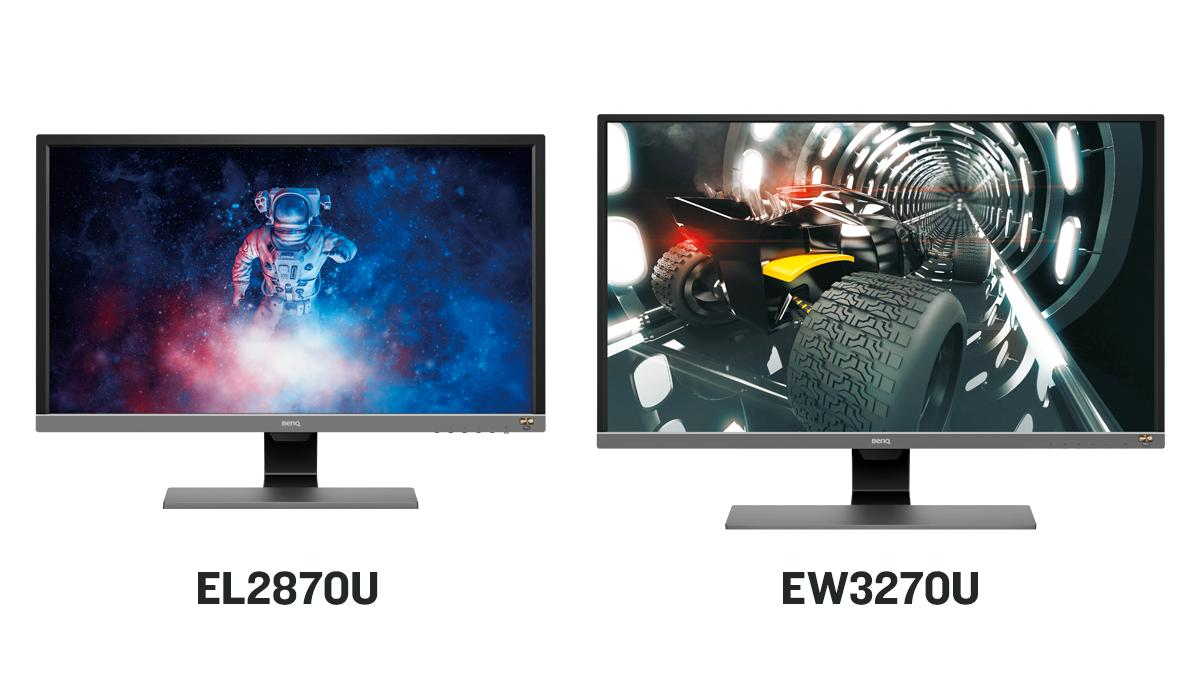Our EL2870U & EW3270U monitors are back in stock! Check them out here: http://bit.ly/2SC75eq. #4K #HDR