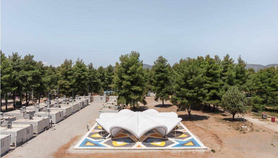 The Maidan Tent Provides a Cultural Node in a Greek Refugee Camp: https://azm.ag/2I1MRWF