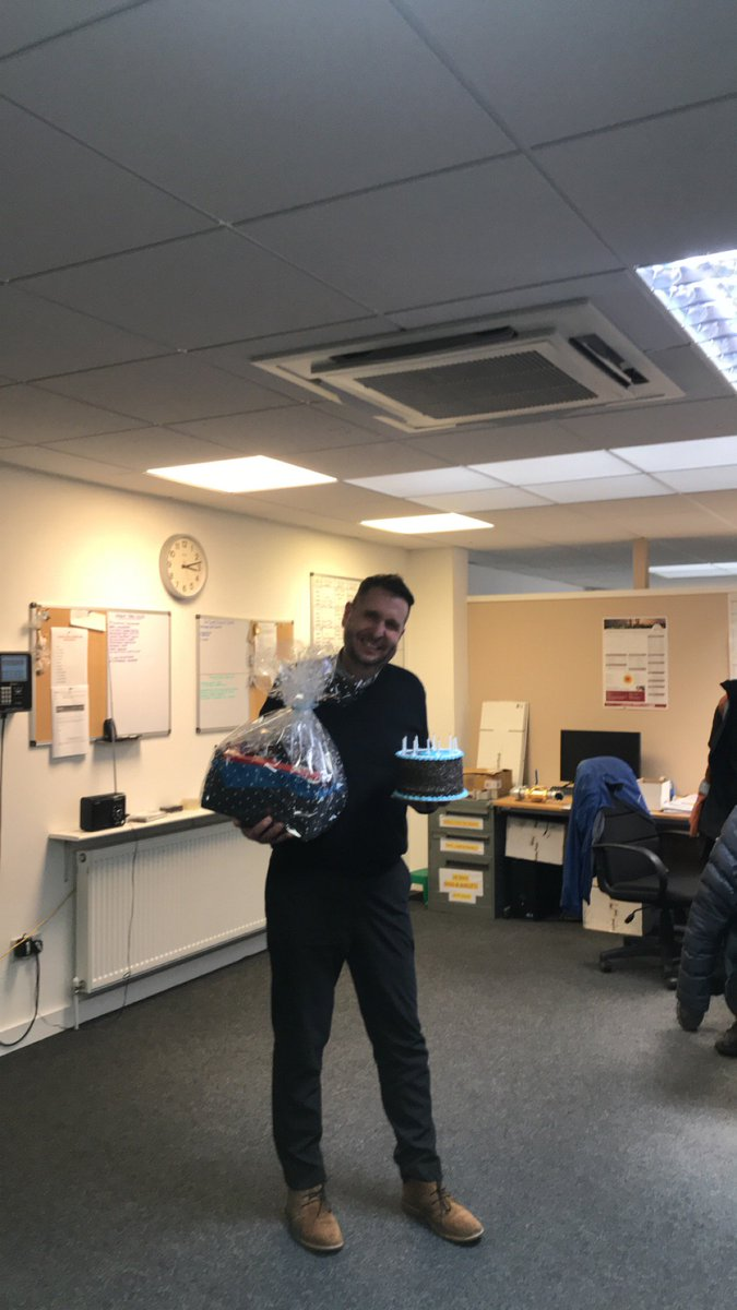test Twitter Media - Wishing our installation Team leader  @DerekPG69 a Very Happy Birthday this afternoon.  #FiftyIsTheNewForty  #HappyBirthday https://t.co/QOGfJDNLIW