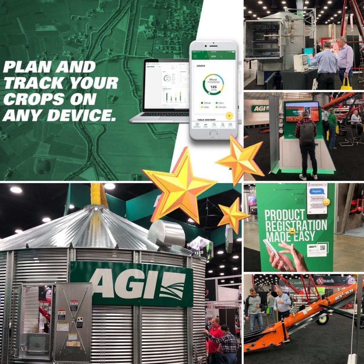 Our team at AGI hit the ground running at the start of 2019 and saw some of our hard work come to life this week at #IPPE2019 and #NFMS19.