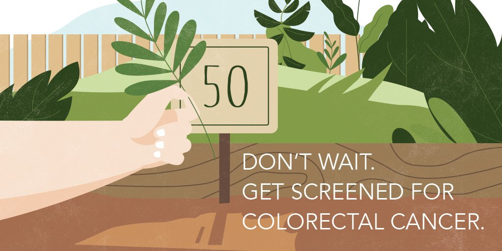 Colorectal cancer is preventable! Screening tests can find precancerous polyps so they can be removed before they turn into cancer. If you're 50 to 75 years old, don't wait - get screened: https://t.co/ZHL2kmplKc  #CancerPreventionMonth