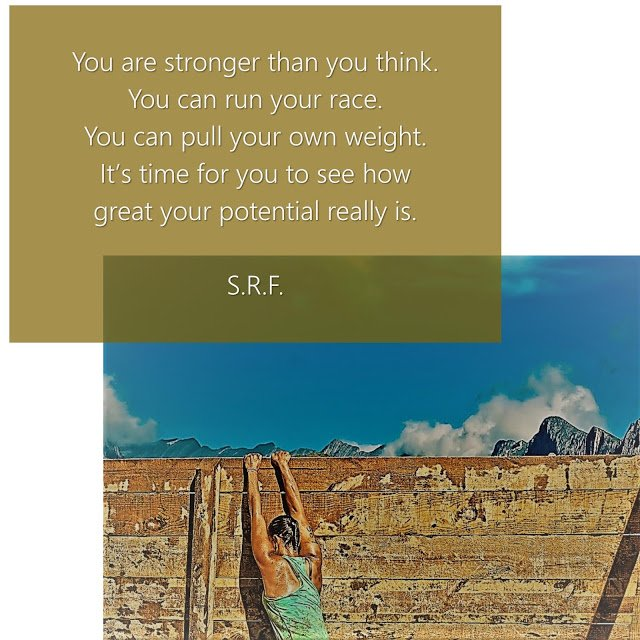 You are stronger than you think. ~ S.R.F. #letstalkaboutfaith https://faithishowwelive.blogspot.com/2019/02/you-will-make-it.html…