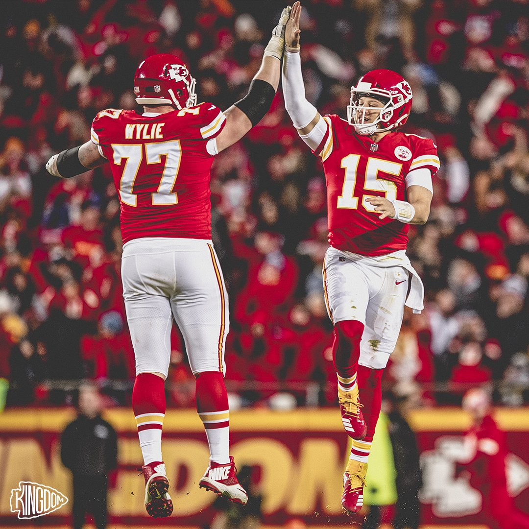 Made it to Friday!  Be safe out there in the ❄️, #ChiefsKingdom!