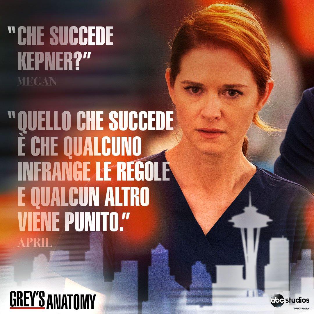 Al Grey Sloan le regole sono importanti! Non perdete la 14esima puntata di Grey's Anatomy in onda questa sera alle 21.15 @ABCStudiosIT