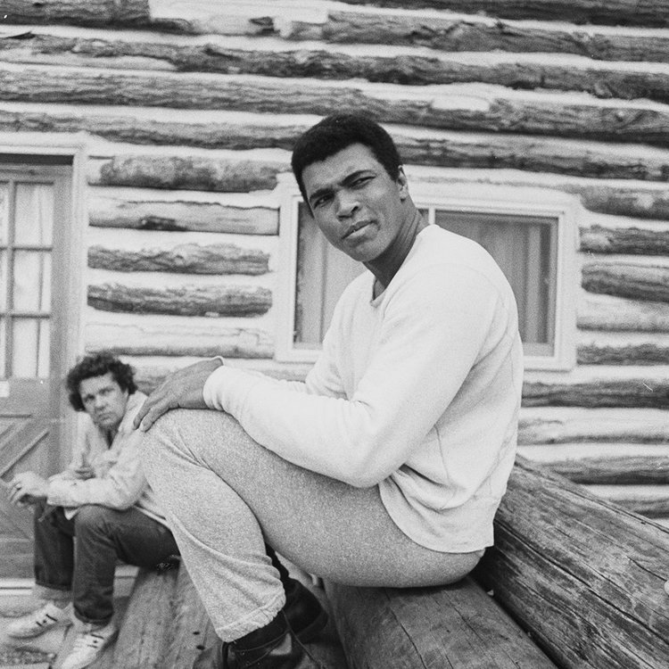 """""""I don't have to be…what you want me to be. I'm free to be what I want."""" #MuhammadAli #BHM  #Inspired<br>http://pic.twitter.com/32OV89K6HT"""