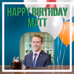 It's Friday, and we're celebrating another special occasion in the office. Happy Birthday, Matt! We hope today is fantastic!