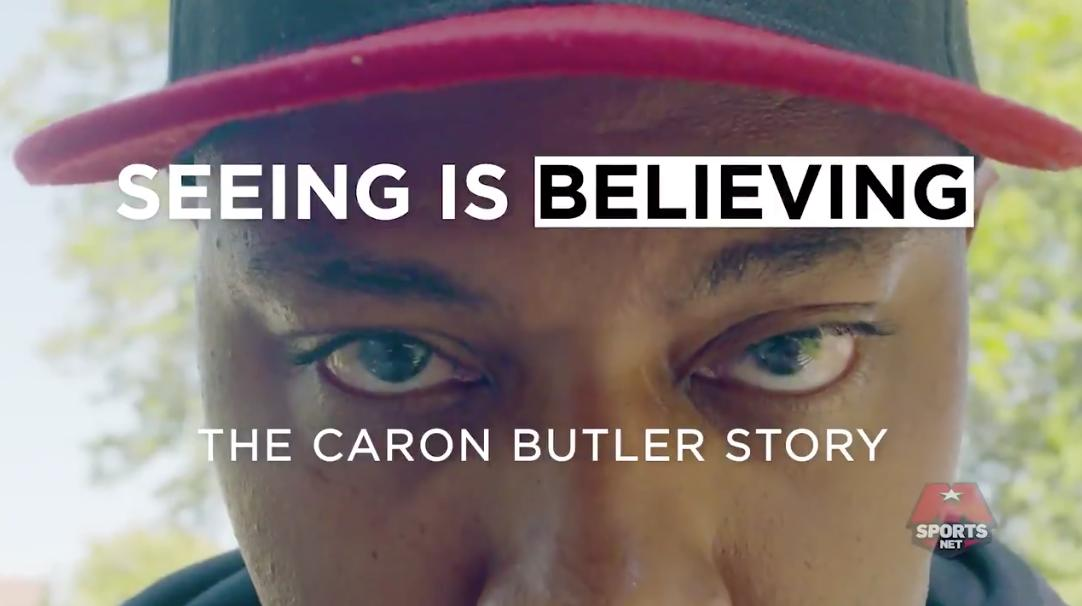ICYMI: Act 1 of 'Seeing is Believing: The @realtuffjuice Story' is live on the Network.  From solitary confinement to one of the top HS hoopers in the country - Caron Butler's story starts in the streets of Racine, WI.  http://monsports.net/Caron