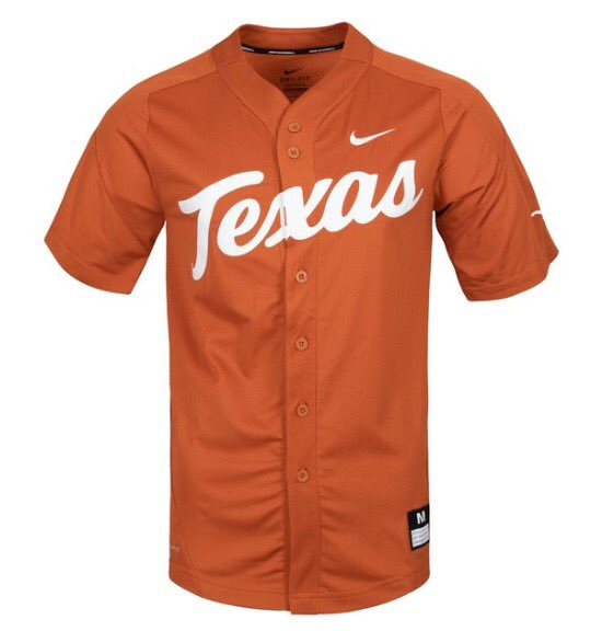 Get your #LonghornFriday fix this morning with the new @TexasBaseball Vapor Untouchable Elite Replica Jersey! Now available at the Texas Team Shop.  ➡️http://hookem.at/BSB-Replica-Jersey …