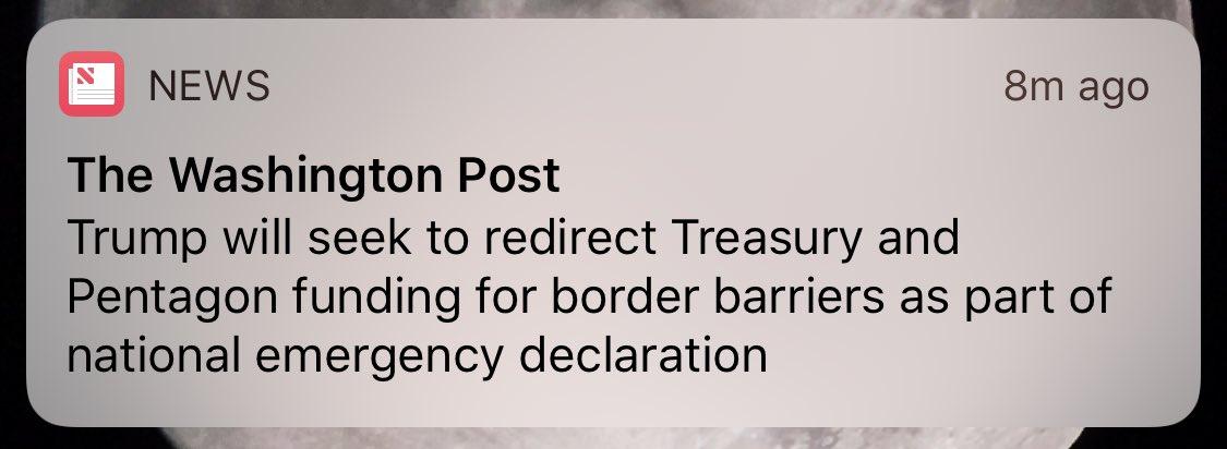 :: tilts head ::  …he's taking from *Pentagon* funding?
