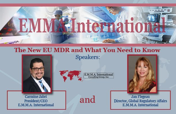 What You Need To Know About The New European Union Medical Device webinar is at 2 pm ET TODAY! #Webinar #Today #WhatToKnow #Union #EU #Medical #Devices #FDA https://attendee.gotowebinar.com/rt/4563782891719820034…