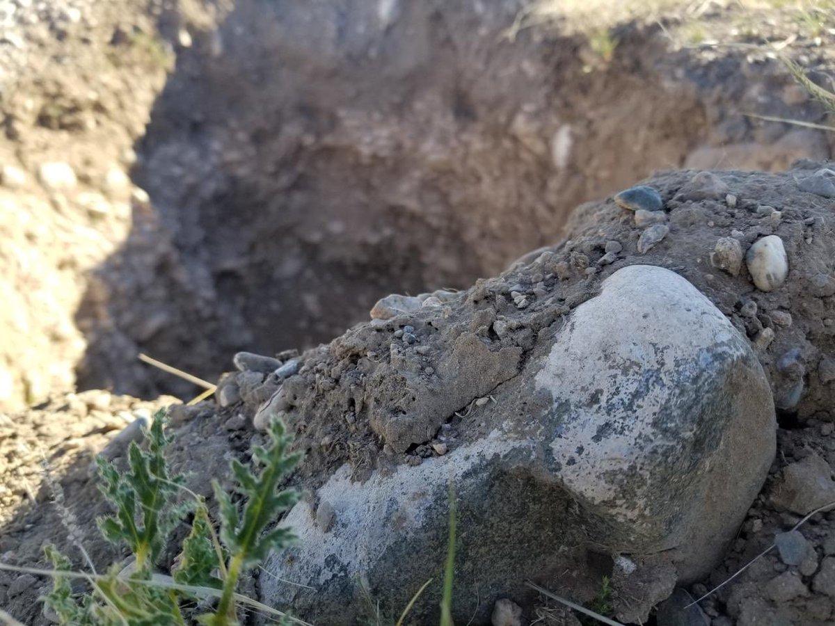 Postal de las calicatas en Tupungato Winelands, hogar de nuestros viñedos en Gualtallary, dónde luego de identificar las características de cada sector de suelo plantaremos cabernet franc, garnacha tinta y blanca, y carignan. 🍇💣