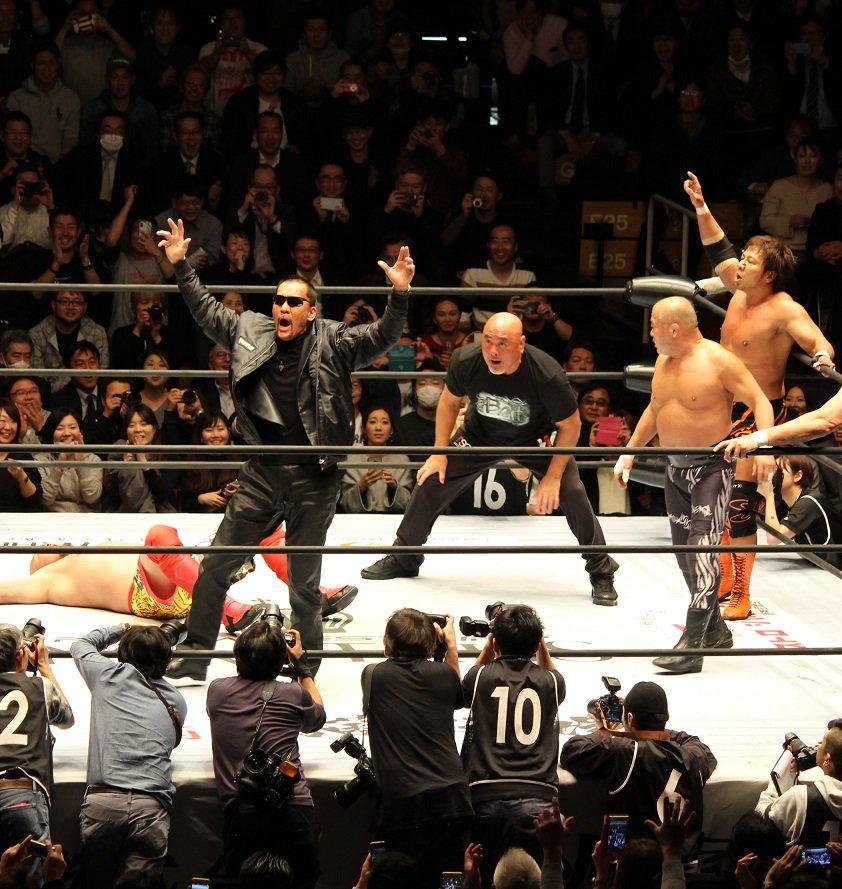 "Keiji Mutoh Produce: ""Pro Wrestling Masters"" Don Frye vuelve a Japón 6"