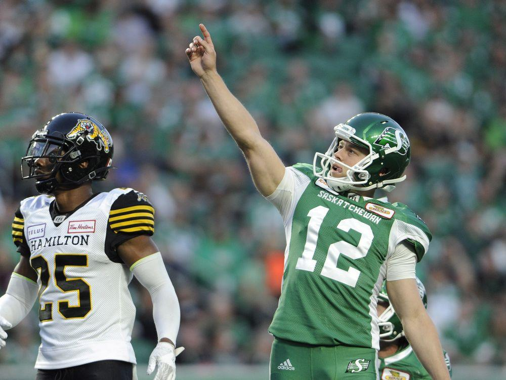 Kicker Brett Lauther signs contract extension with Roughriders https://t.co/aYrIBug2GW #CFL #Riders