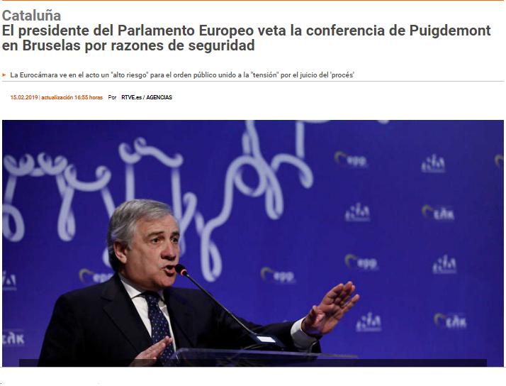 Xavier F. Domènech's photo on Tajani