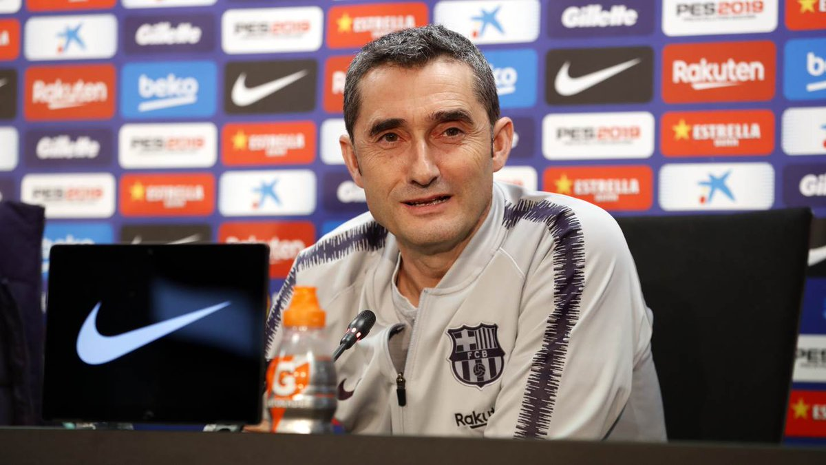 """🔊 Valverde: """"The renewal was a simple decision for me. The Club and the team are good and everything progressed naturally"""" 🔵🔴 #ForçaBarça"""
