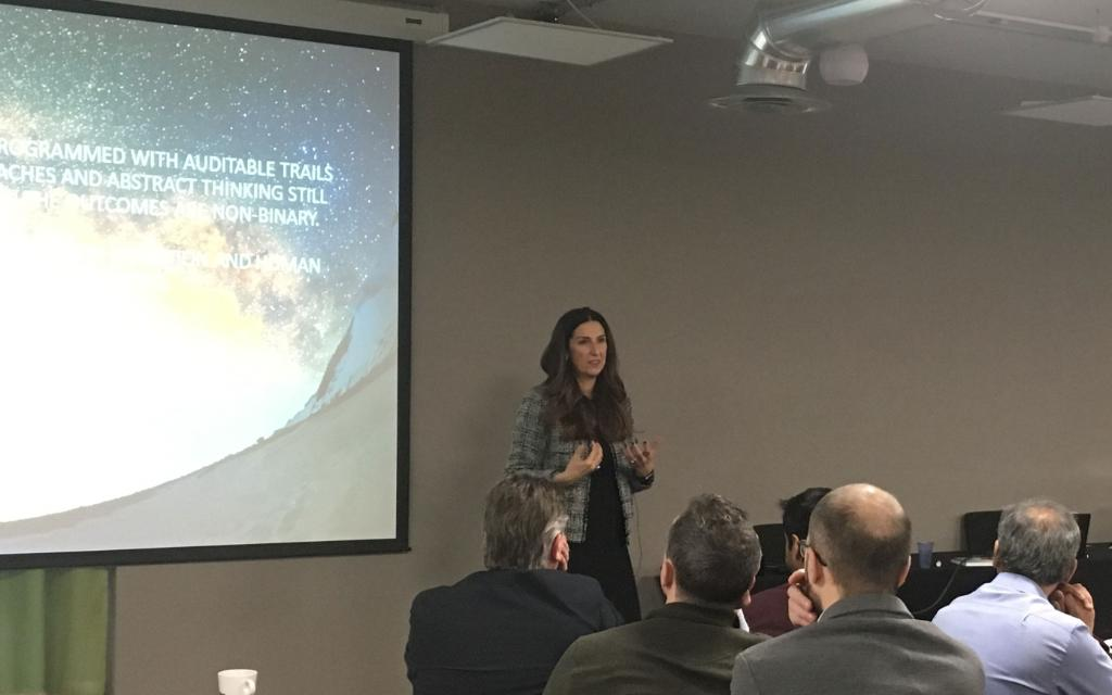Thank you @inma_martinez for joining us this week in #london to share your knowledge and insights during an eye-opening session on the future of #AI.