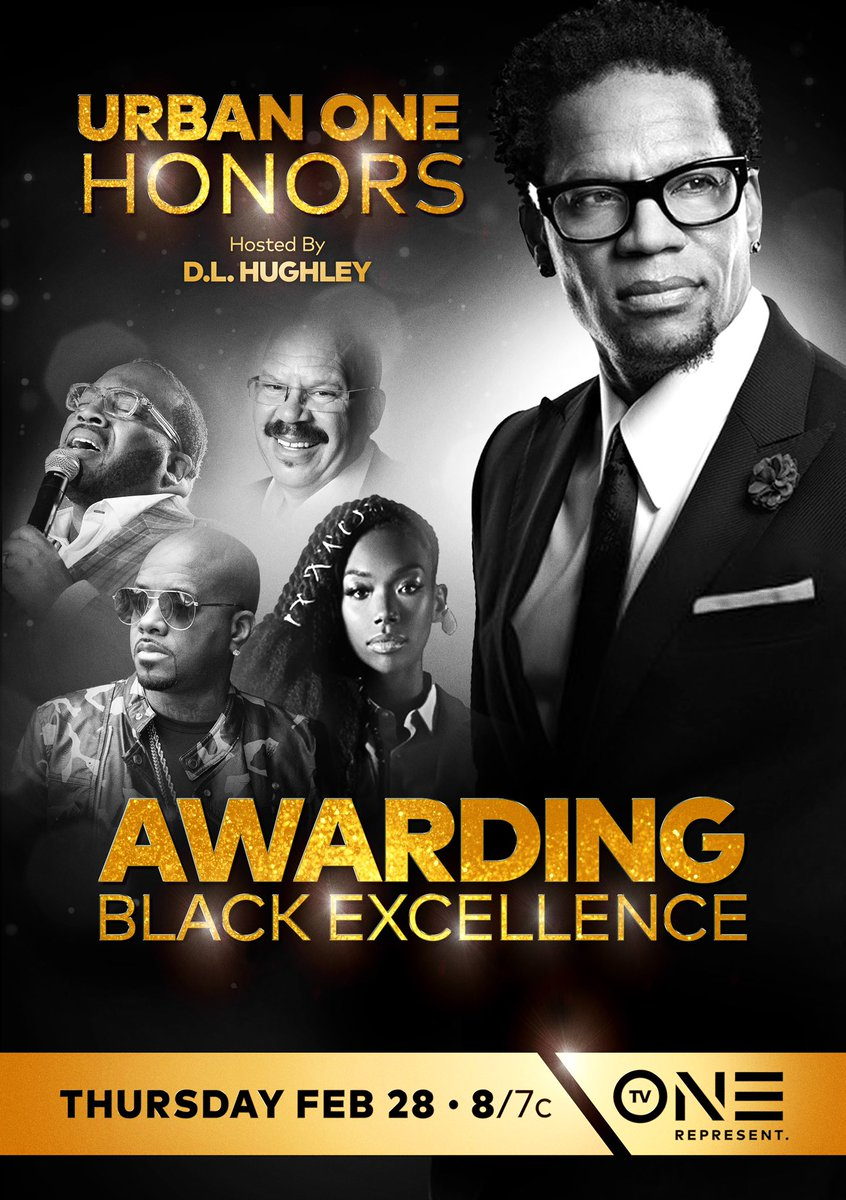 Are you ready for TV One's first annual #UrbanOneHonors hosted by @RealDLHughley? We're honoring music mogul @jermainedupri! Tune in February 28th at 8/7c!