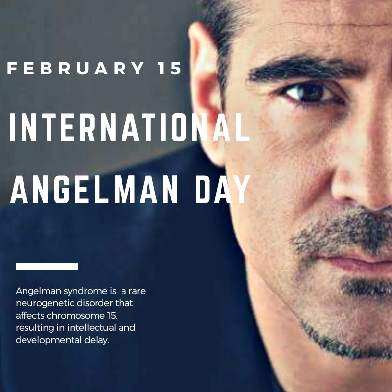 Today it's International Angelman Day.  Colin is a commited father of a child affected by Angelman & a long-term supporter of @cureangelman Learn more about Angelman Syndrome, make a donation & feel free to spread the word.  Original Picture: Credit to the owner • Non-Commercial