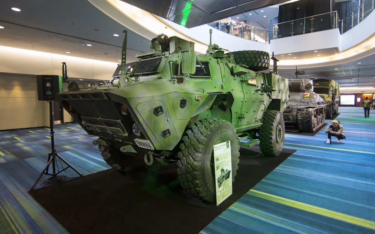 Military patrol vehicle, 1967 Beetle, Devel Sixteen hypercar... 2019 Canadian International AutoShow opens, displaying over 1,000 vehicles of all kinds