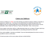 Image for the Tweet beginning: Choices in Childcare  /