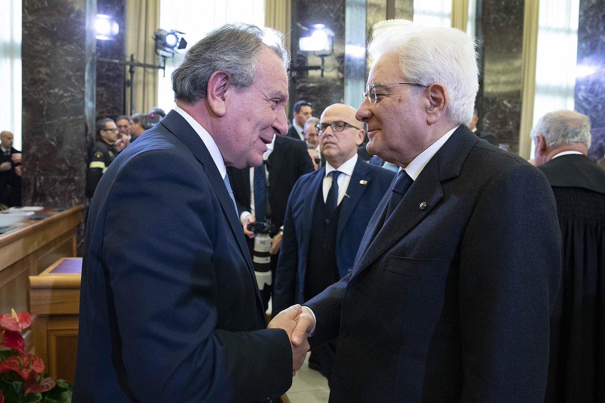 Il Presidente #Mattarella all'inaugurazione dell'Anno Giudiziario della #Corte dei Conti