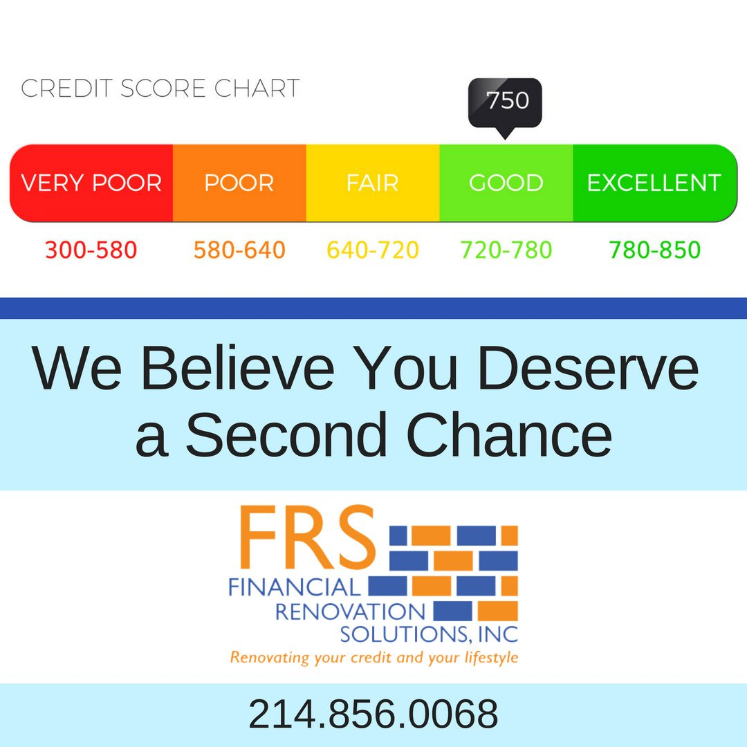 Everyone deserves a second chance when it comes to your credit. Do you believe you should get a second chance? We do and will work hard to help you achieve it. Call us today  #SecondChance #CreditRepair #McKinneyCreditRepair