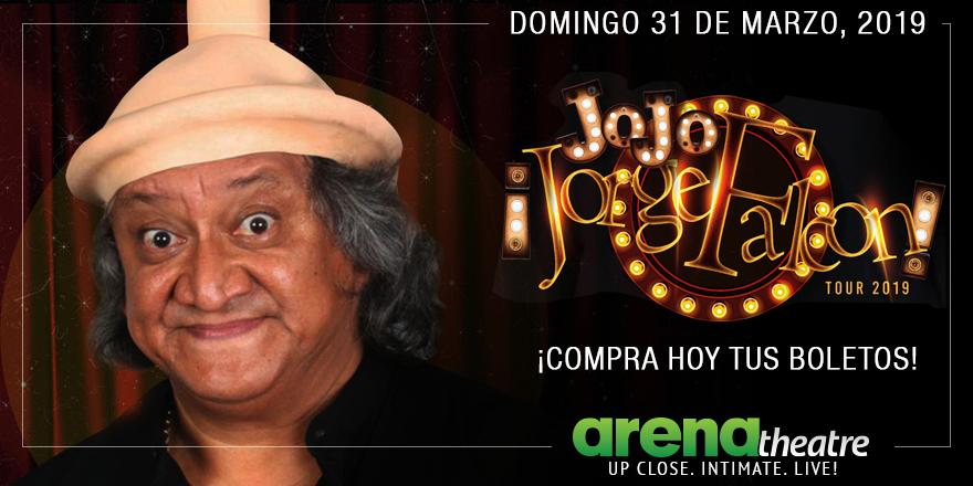 ¡Los boletos para el gran show de Jorge Falcon ya están a la venta! ¡Apresúrate! ¡Obtén tus boletos hoy! 🤩👉https://bit.ly/2TNRaWJ --#LiveShow #Comedia #Houston #JorgeFalconTour2019
