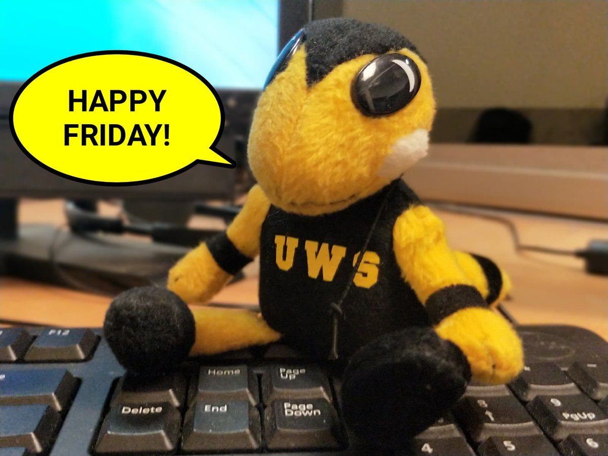 Happy Friday, Yellowjackets! Make it a great day! https://t.co/GD6Sbco43T