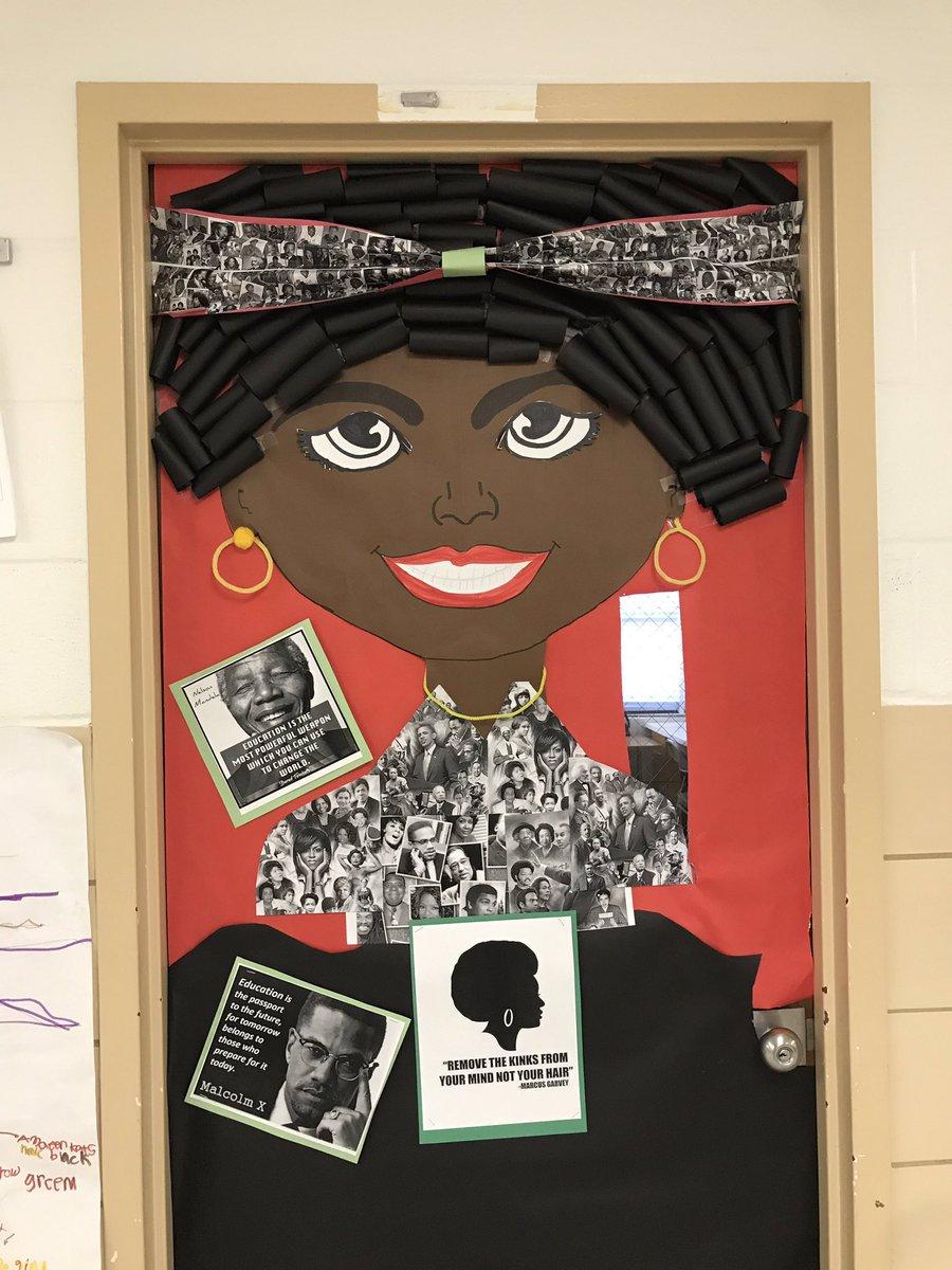 Loving 😍 these amazing doors @HernwoodES to celebrate #BCPSBlackHistoryMonth @BCPS_ELA