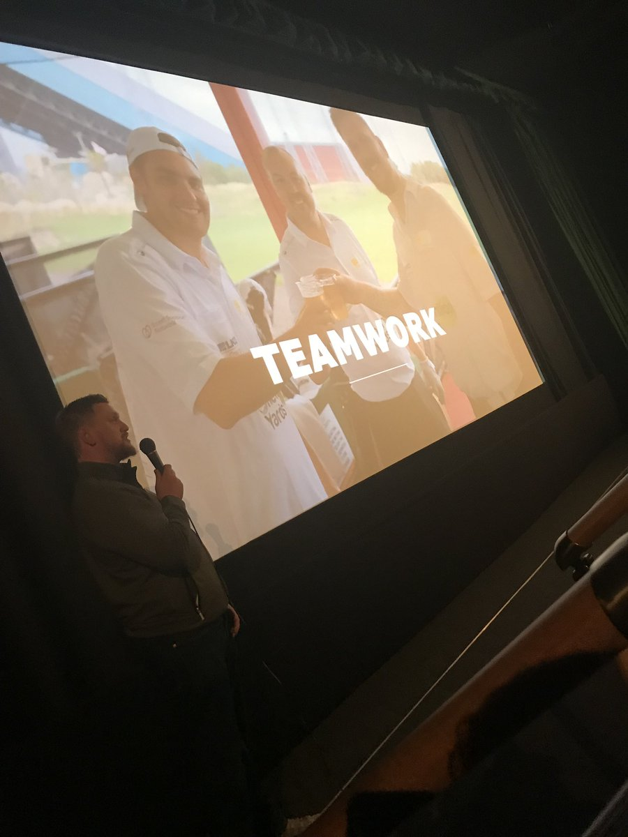 #AGM #EveryoneTogether We're holding our AGM today, live from The Rex Cinema! It's a pleasure to hear from @Oneleg87 and look back at the great achievement of raising almost £20k for charity together! #TeamWork #GreatExperience<br>http://pic.twitter.com/iCYEtGPOpY