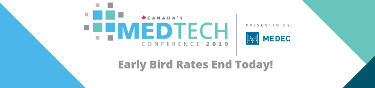 Early Bird Savings End Today!  Register Now for Canada's MedTech Conference 2019 https://www.medec.org/events/EventDetails.aspx?id=1162009&group=…