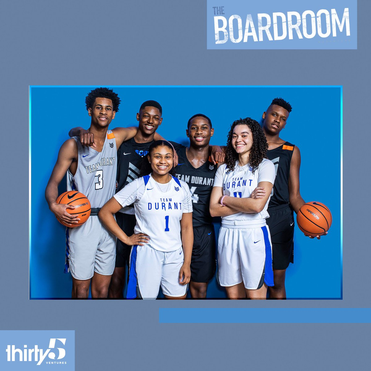 The Boardroom issue of ESPN Mag is on stands now, including a feature on @teamdurantaau @teamdurantgirls by @Schultz_Report. Six players discuss their future plans: https://es.pn/2EbNlFv