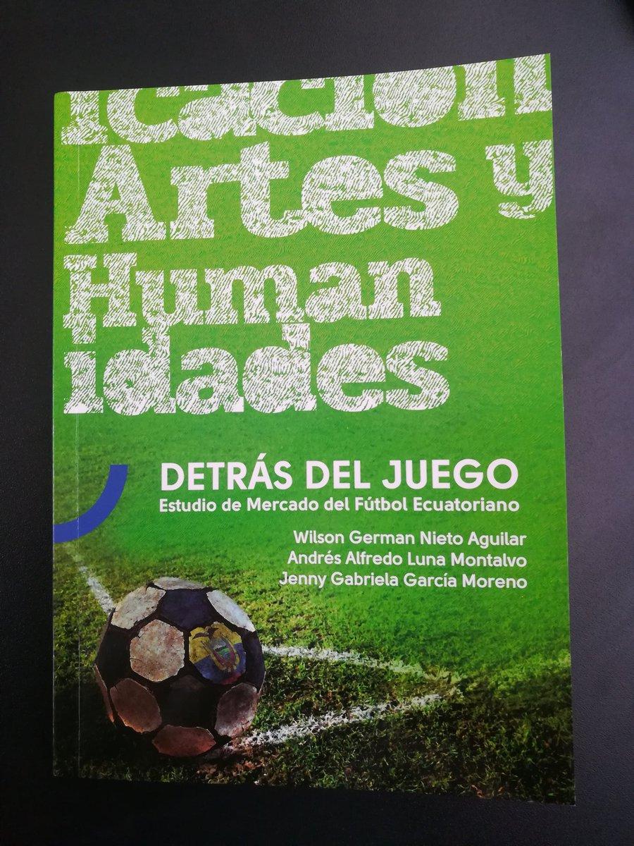 """En el libro """"Detrás del juego"""", excelente trabajo de @clasesmkt @alunamontalvo @Gabyliga, se referencia una encuesta de las hinchadas en Quito: #LDU 45% Ninguno 15% #NAC 13% #BSC 9% #EME 7% #AUC 4% #DQ 4% #IDV 2% #UC 0,7%"""