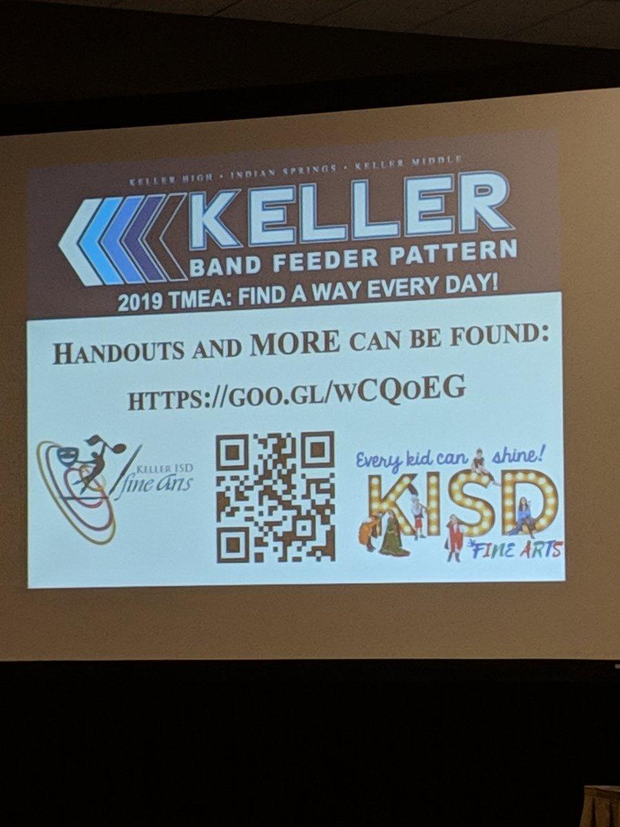 Keller Isd Fine Arts On Twitter Tmea Attendees Had The
