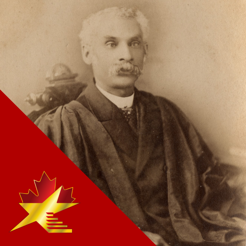Anderson Ruffin Abbott 1837 - 1913  Abbott was the first Canadian-born Black person to graduate from medical school. He served the Union army as a civilian surgeon during the American Civil War  #acwof #blackexcellence #blackpower #blackhistorymonth #blackhistory #blacklobe