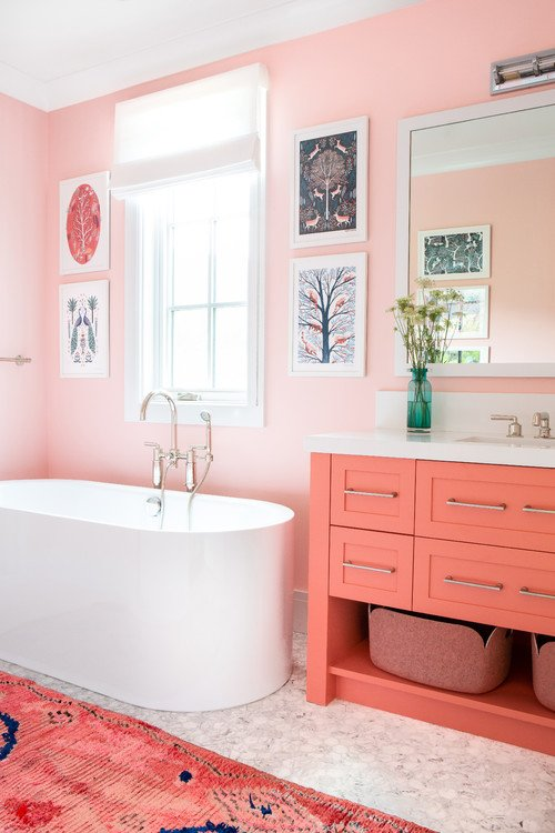 The 2019 @pantone #ColorOfTheYear is #LivingCoral and we love it! Check out these tips on how to incorporate it into your bathroom!  http:// ow.ly/U84Z30nHGCv  &nbsp;  <br>http://pic.twitter.com/7Z8HDKLNRf