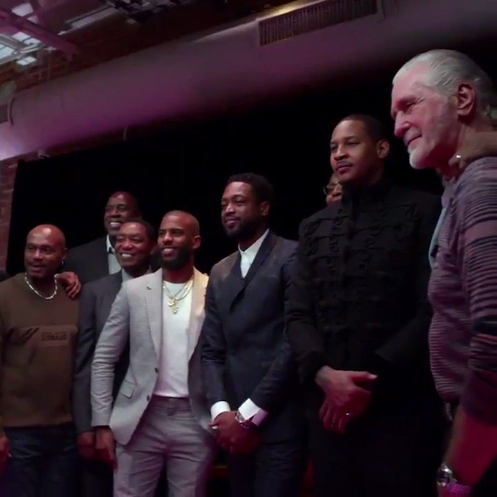 Yes, @DwyaneWade they all came out for you. Well deserved. 👏  Charlotte turned into #WadeCounty for D. Wade's #OneLastDance All-Star Celebratory Dinner! What a night!