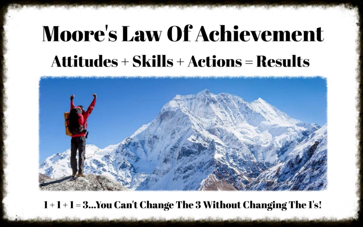 You'll only improve your results when you improve your attitudes, skills and actions! #MooreThoughts #Leadership #LeadershipDevelopment #BuildTrust #MooresLaw #Coaching #SalesLeadership #Homebuilding #NewHomeSales