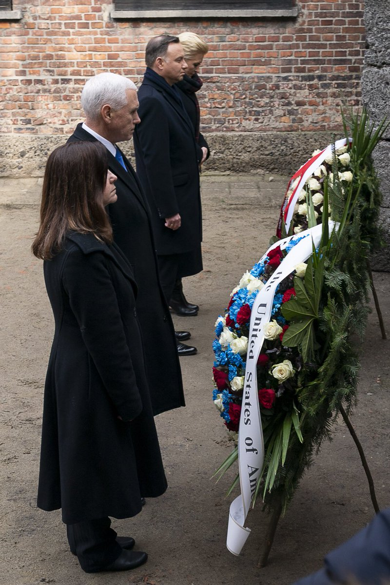 May Auschwitz be a reminder to all people and all times that to fall silent in the face of evil is to ensure its triumph. #NeverAgain
